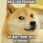 Doge likes government loan programs for home buyers