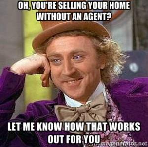 Real estate meme - choosing a real estate agent