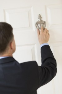 Door knocking - real estate lead generation
