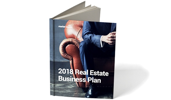 2018 real estate business plan cover page