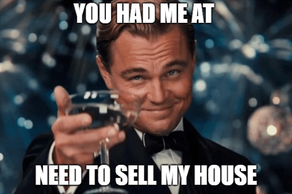 real estate meme Leonardo DiCaprio