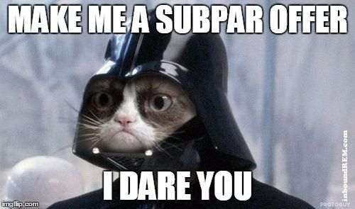 cat darth vader real estate meme